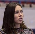Анастасия Короткова: Мы помогаем командам, встречаем, подготавливаем арену. Например, команда попросила мячи - пожалуйста. Следим, чтобы все необходимое было в раздевалке. Например, массажный стол, вода, небольшой перекус в виде фруктов.